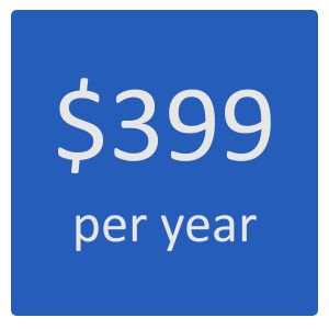 Check In Software for $399 per year