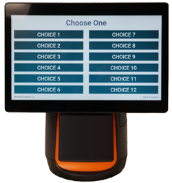 Student Check In using Ticket based customer kiosk